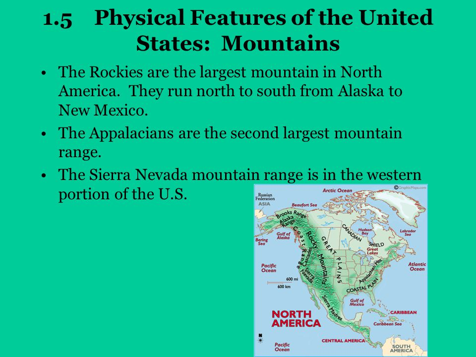 Chapter One Geography of the United States  ppt video online
