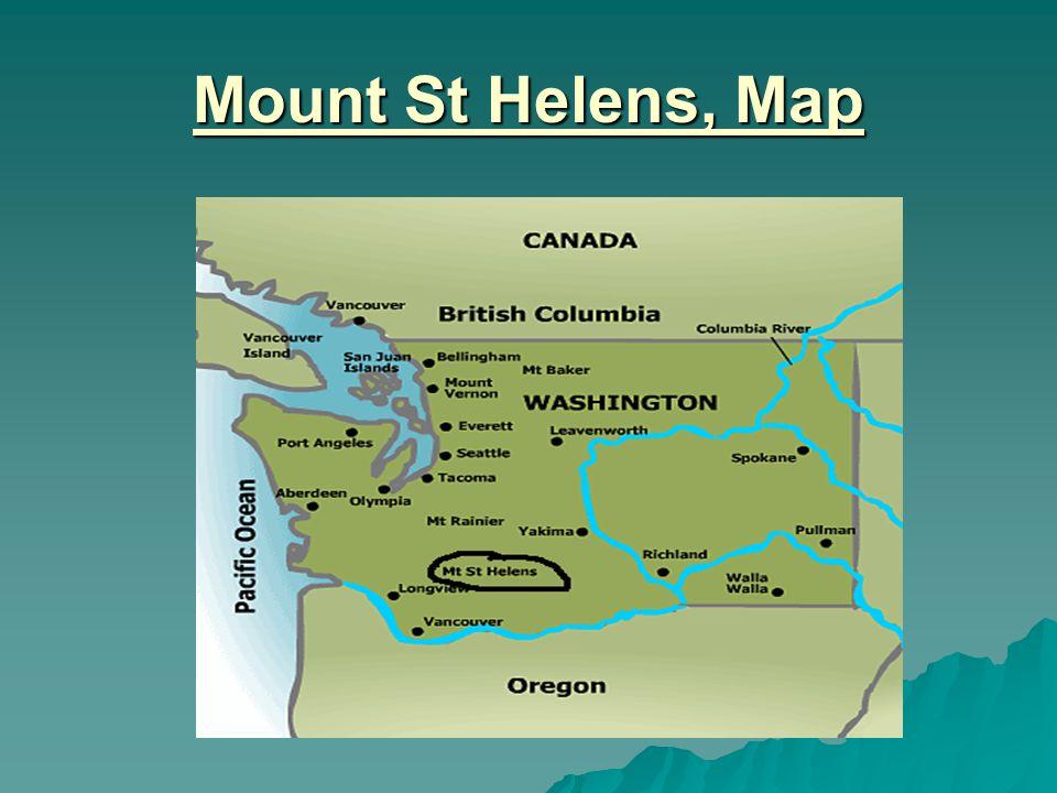Mount St Helens USA Ppt Download - Mt st helens on us map