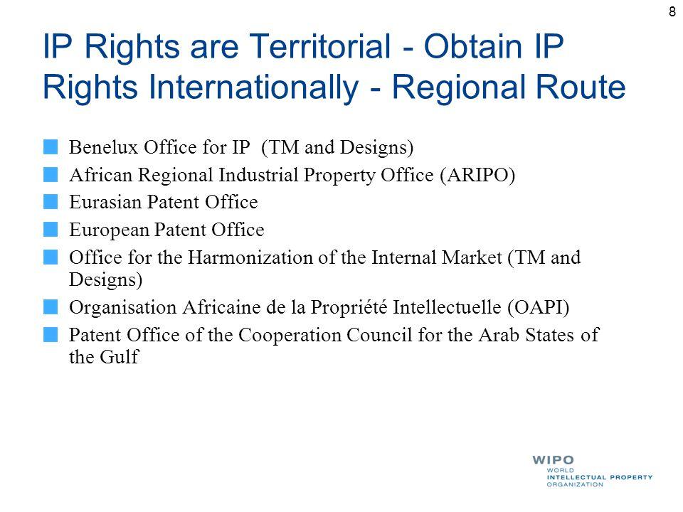 Intellectual property issues in international business - Office de la propriete intellectuelle ...