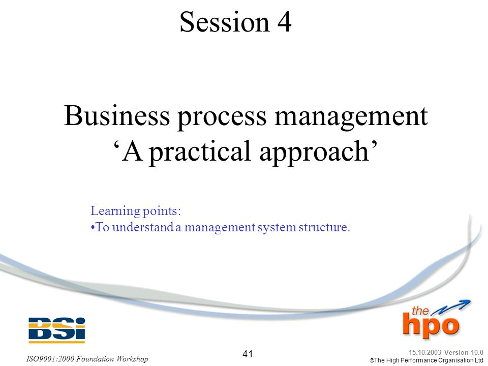 Business process management 'A practical approach'