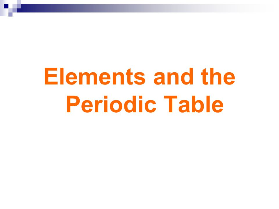 Elements and the periodic table ppt video online download urtaz Images