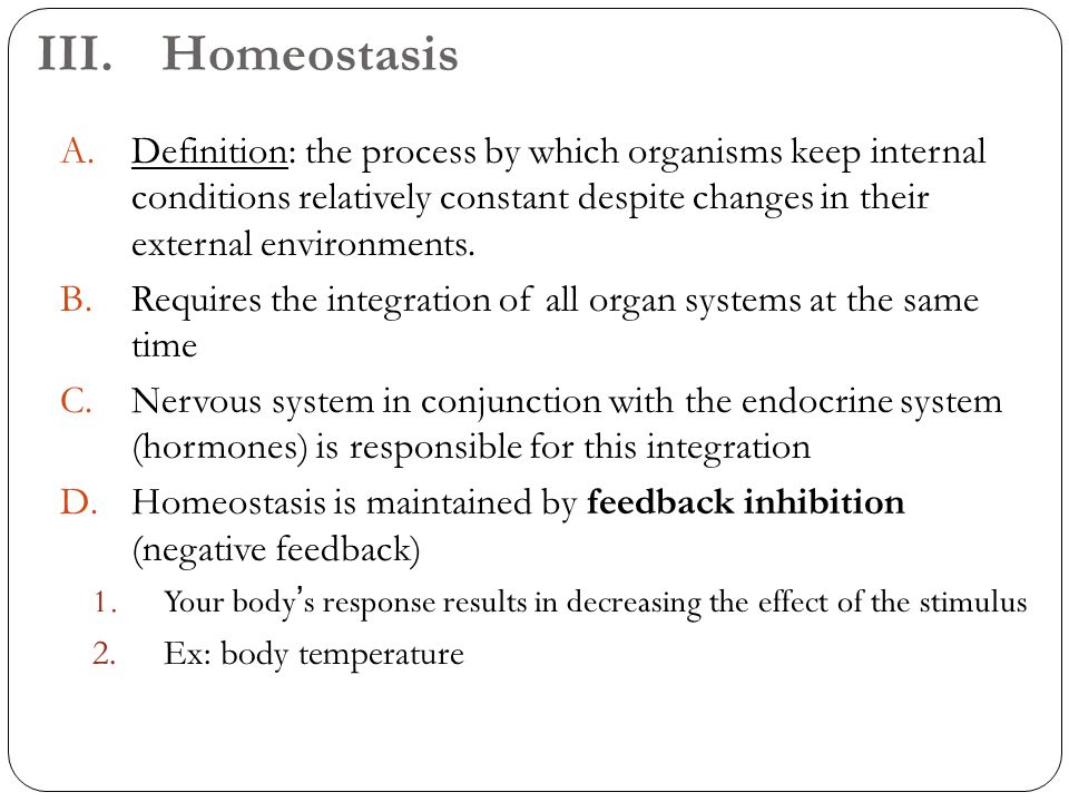 Nice What Is Homeostasis In Anatomy And Physiology Gift - Human ...