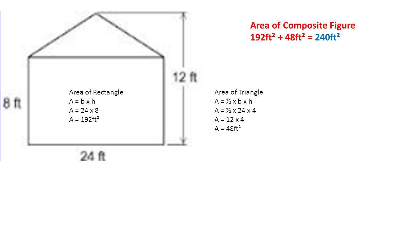 4 Area of Composite Figure ...