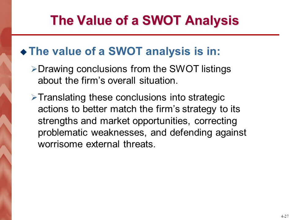 Swot analysis of the cocom structure