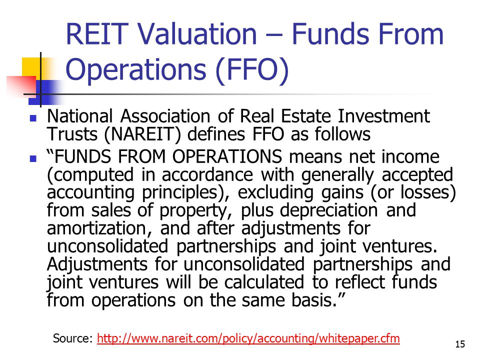 Real Estate Reit : Real estate investment trusts reits ppt video online