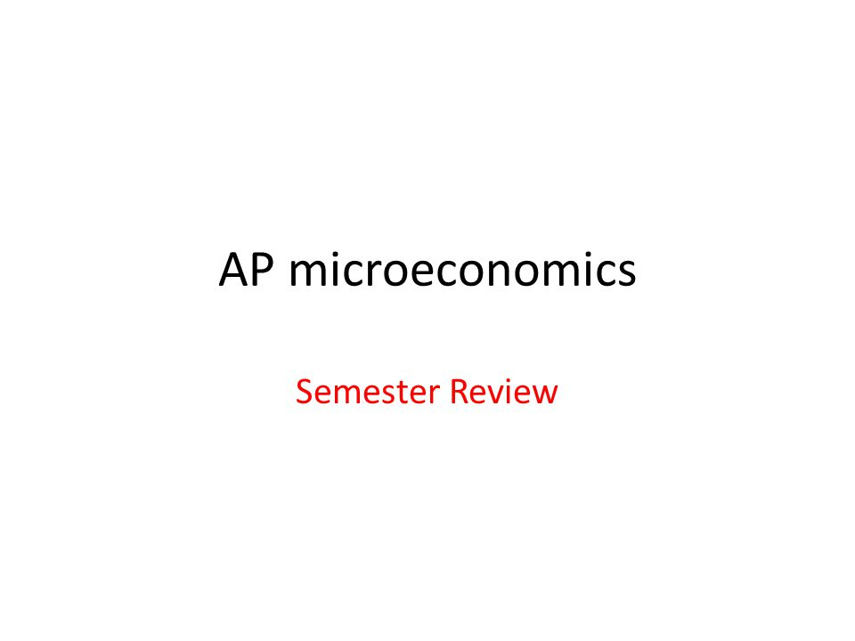microeconomics review Microeconomics is the study of how individual households & firms make decisions if there is a shortage of laborers, we would expect the.