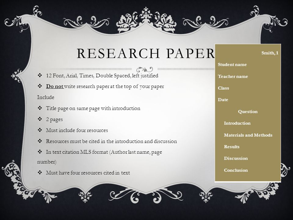 research paper mls This document will show you how to format an essay in mla style 02) if, instead of questions about putting the final formatting touches on your essay, you have questions about what to write, see instead my handouts on writing a short research paper, coming up with a good thesis statement, and using quotations in the.