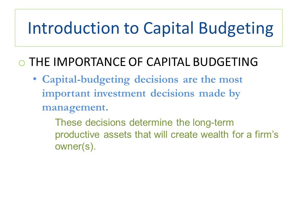"a introduction of budgeting The purposes of budgeting when attempting to explain the county budget process, it is important to have an understanding of the word ""budget."