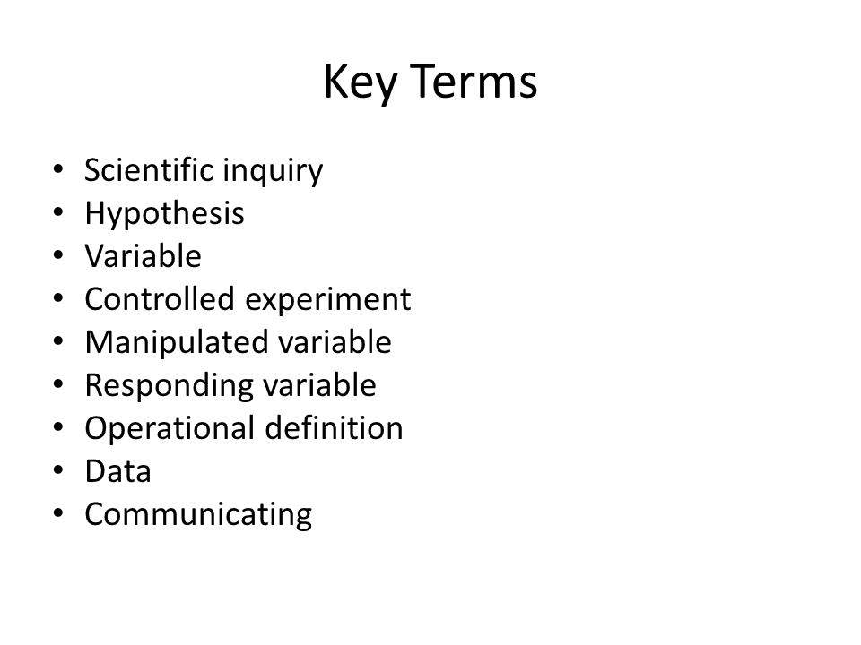 Ch1 Sec2 Scientific Inquiry ppt download – Scientific Inquiry Worksheet