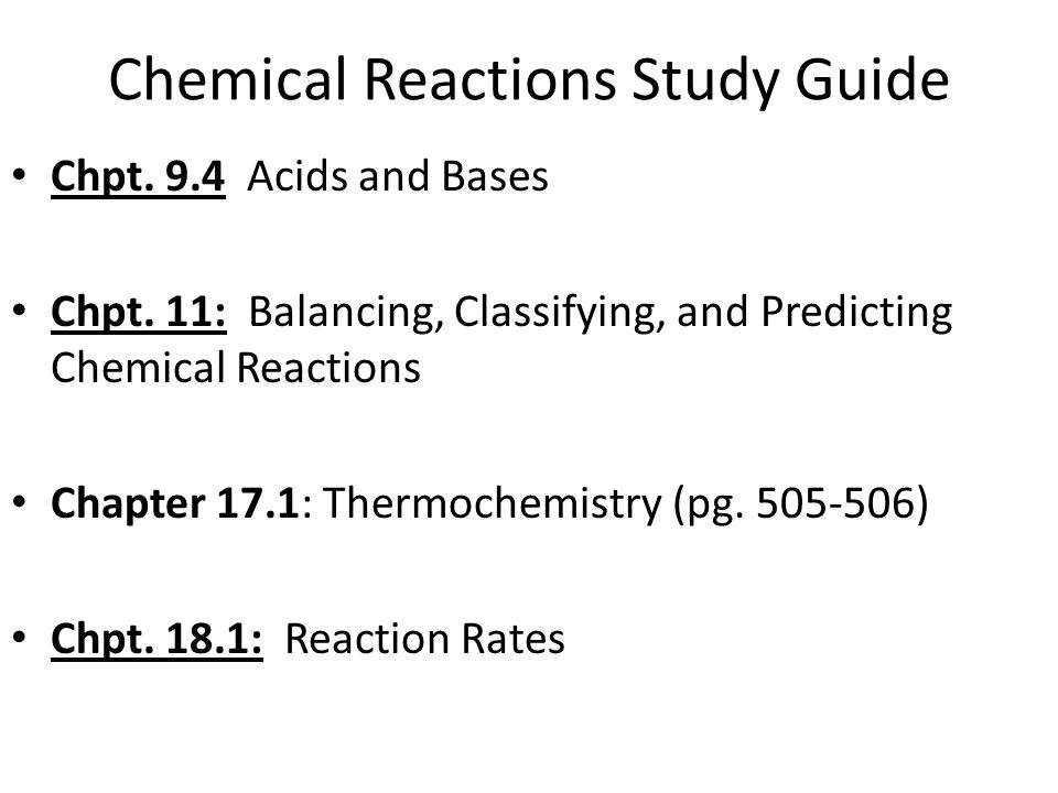 Classifying chemical reactions worksheet chapter 9
