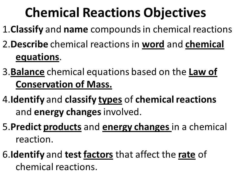 Chemical Reactions ppt download – Classifying Chemical Reactions Worksheet