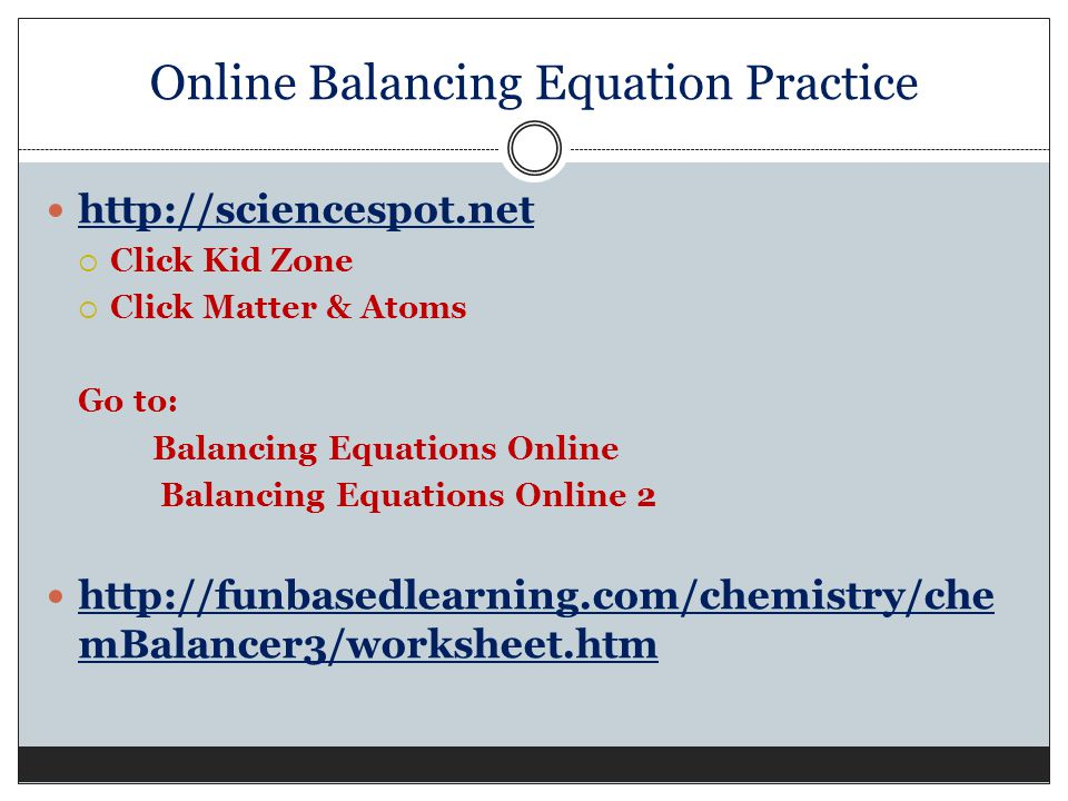 Balancing Equations Practice Worksheet Answers Science Spot 4796130. Balancing Equations Practice Worksheet Answers Science Spot. Worksheet. Balancing Chemical Equations Worksheet Science Spot At Clickcart.co