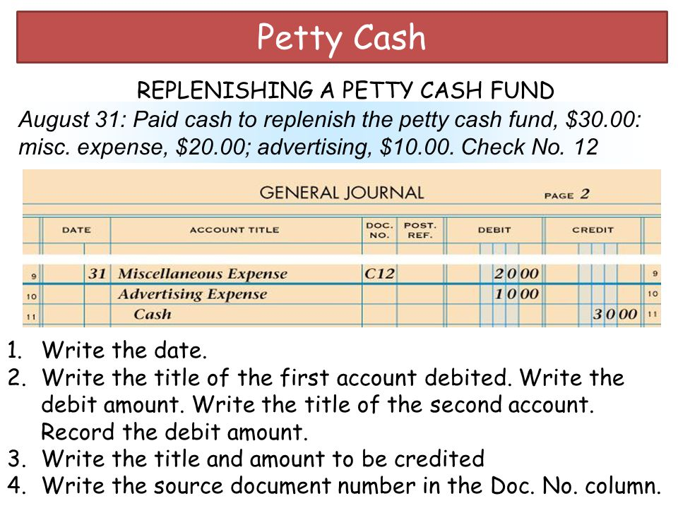 Do's and Don'ts For Petty Cash