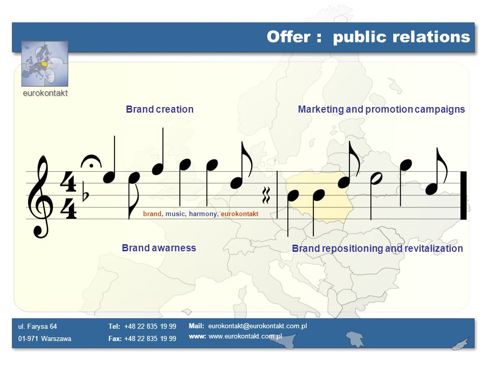 Offer : public relations