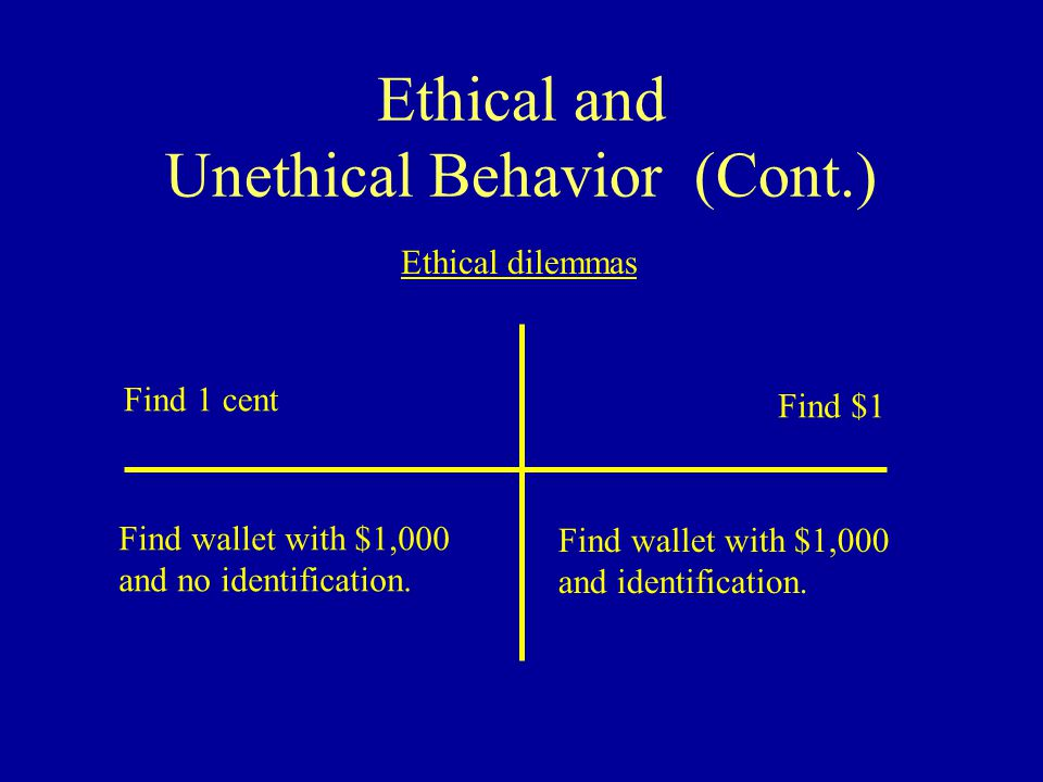 what is ethical behavior pdf