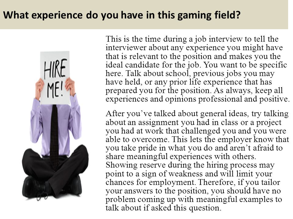 informal interview assignment Description of the assignment: the interviewer is responsible for controlling the time frame of the interview interviewing viideo informational interviewing.