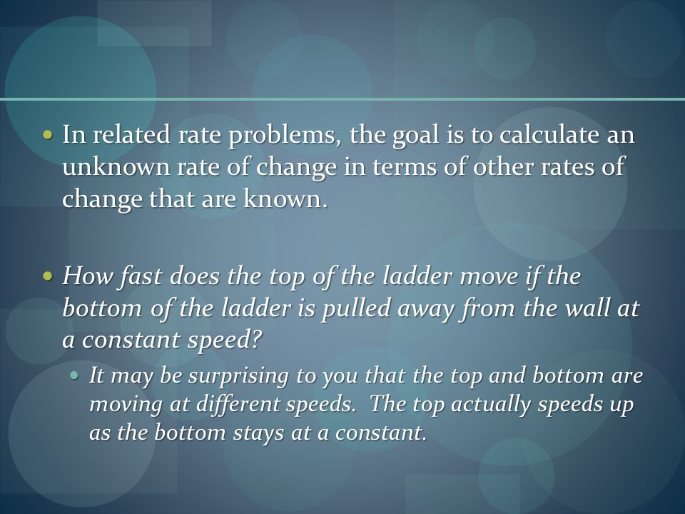 how to calculate rate of change