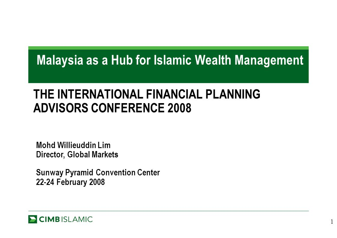 management from islamic History of islamic asset management in the early days of the islamic banking  sector back in the 1980s, there was one big debate about whether zero-coupon.