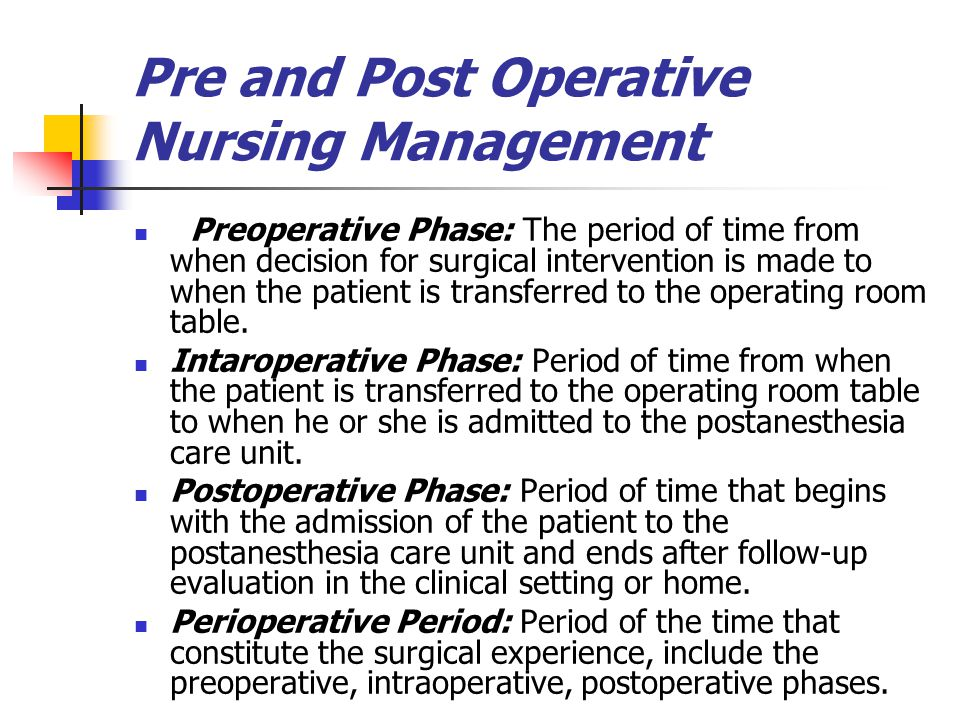 chapter 20 nursing management postoperative care Chapter 3 postoperative care and complications after thoracic  postoperative care and complications after thoracic surgery  post operative care 41 pain management.