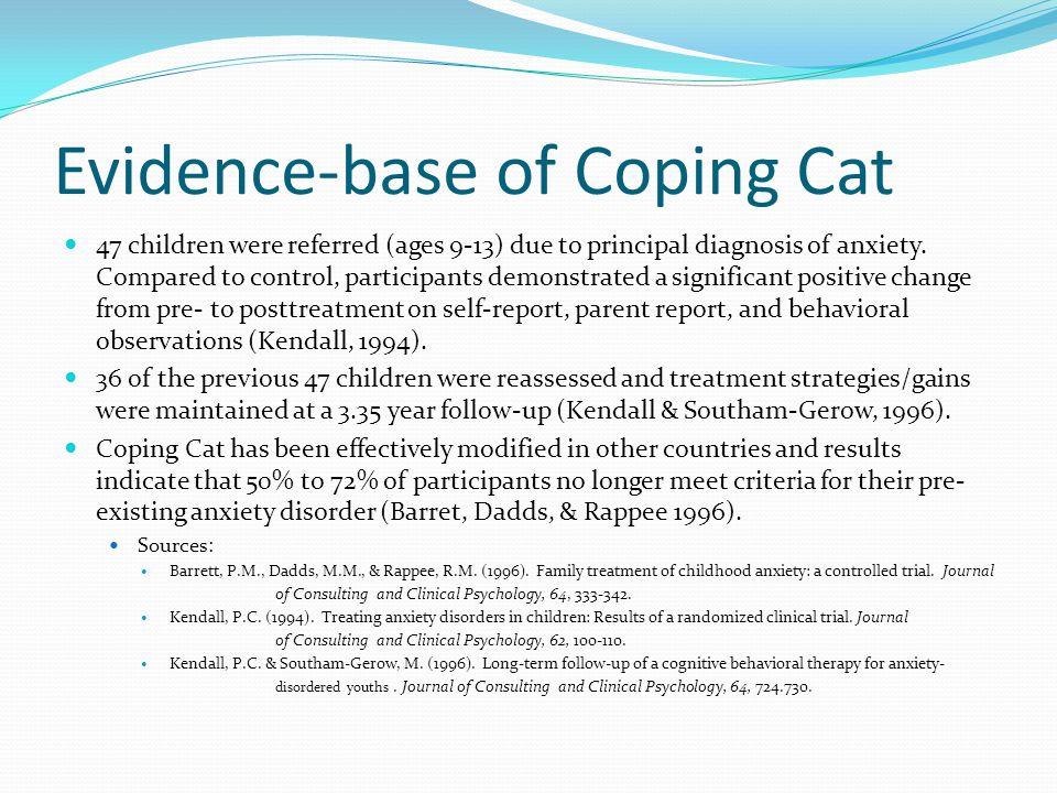 coping cat program reviews cute cats