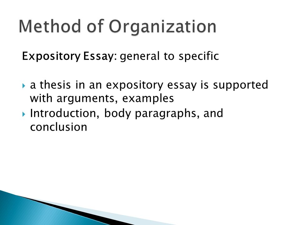 essay methods of organization How to write a dissertation or  there is no canonical organization for a  a translation of this essay into bosniancan be found at  .