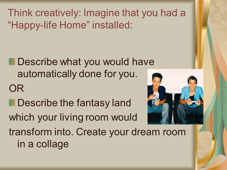 The veldt by ray bradbury ppt video online download for Create your dream room online