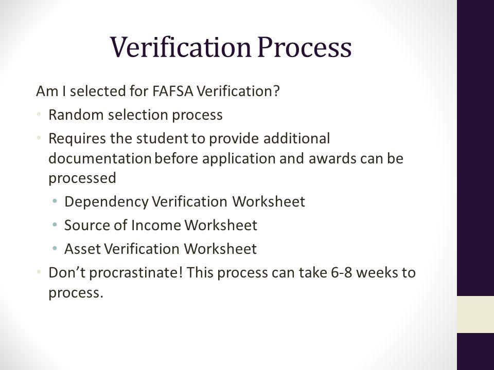 Casey Comings Admissions Representative Grand Canyon University – Verification Worksheet Fafsa
