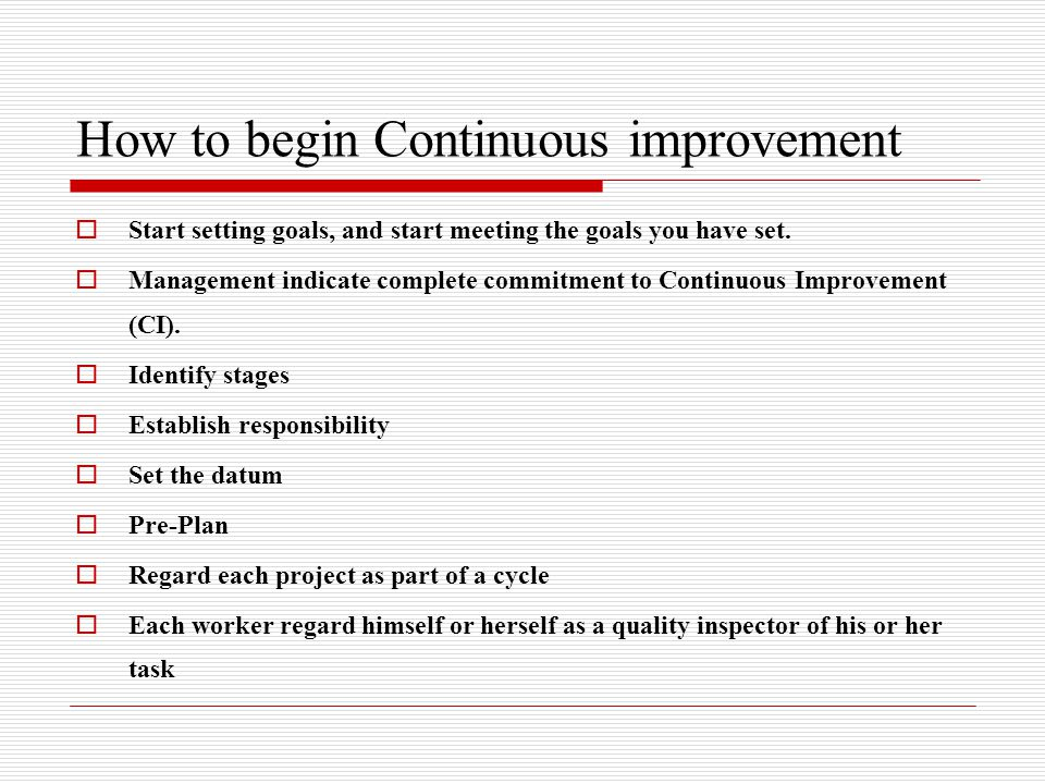 Total quality management ppt video online download for How to plan a remodeling project