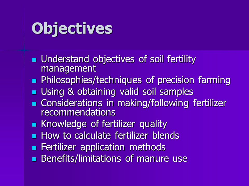 Unit 9 soil fertility management ppt video online download for Soil use and management