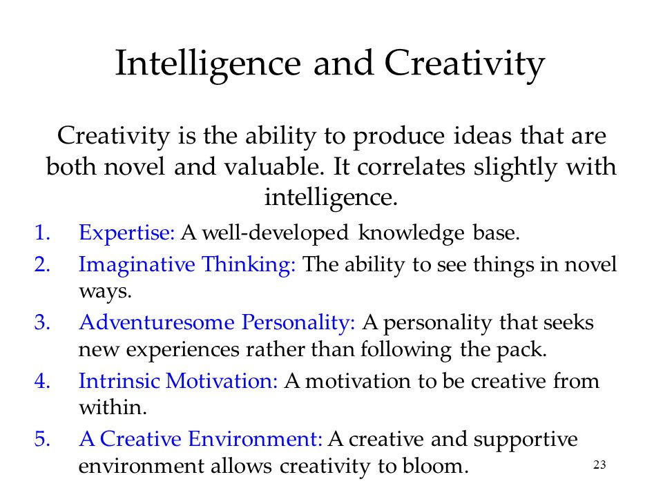 relationship between creativity and motivation