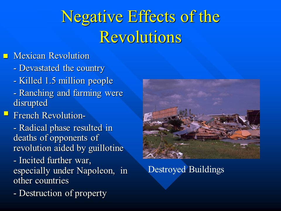 negative effects of french revolution debate The haitian revolution (french:  there has been considerable debate over whether the number of deaths caused by disease  the haitian revolution and its effects.