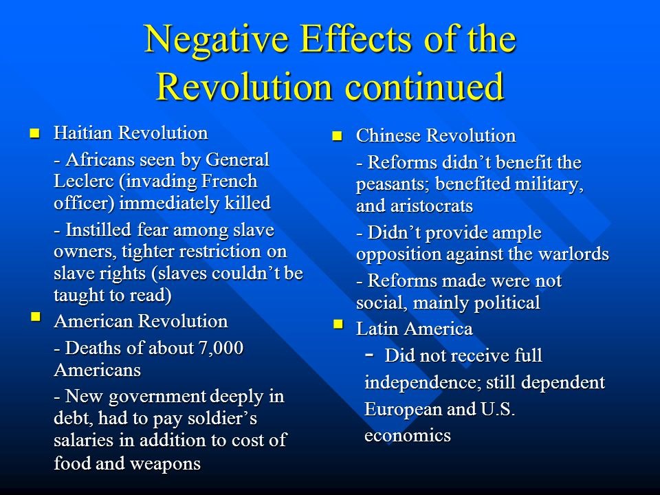 short essay on effects of french revolution The outcome of the french revolution, which began in 1789 and lasted for more than a decade, had numerous social, economic, and political effects not just in france but also in europe and beyond by the late 1780s, the french monarchy was on the brink of collapse its involvement in the american.