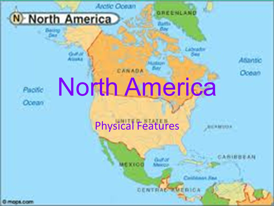 Usa And Canada Physical Map Game