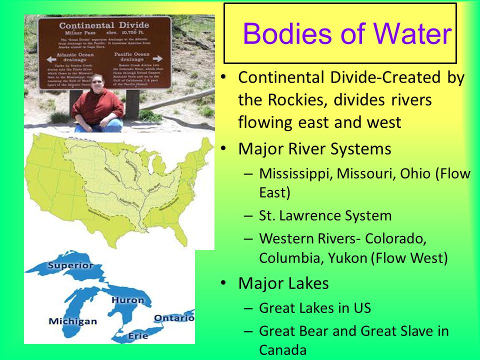 United States Map Political Map Ppt Video Online Download - Us map river system