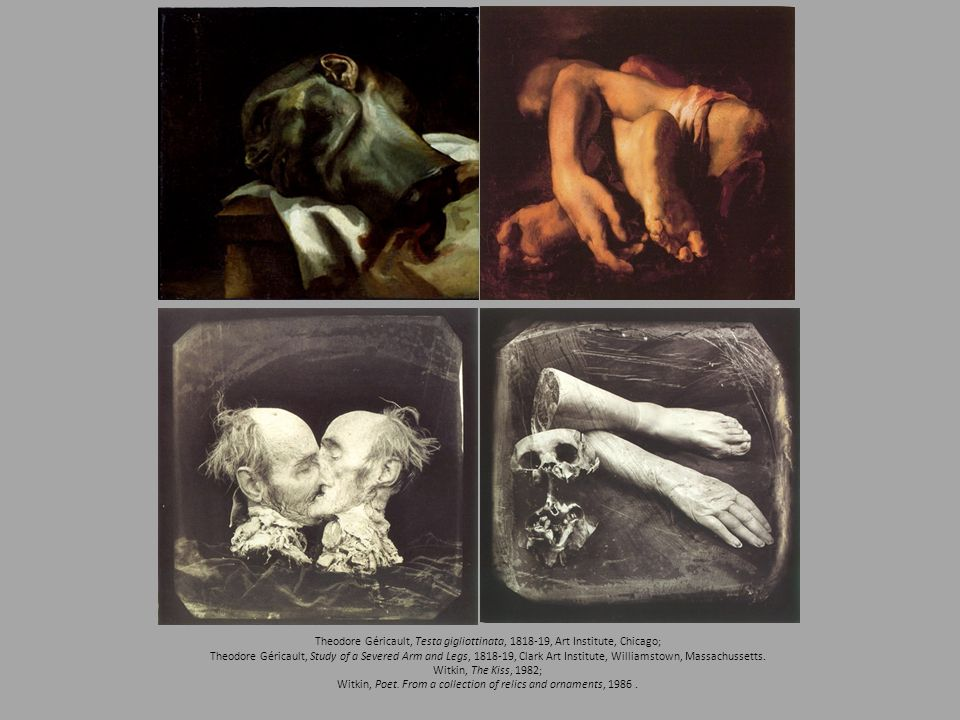 Witkin, Poet. From a collection of relics and ornaments,