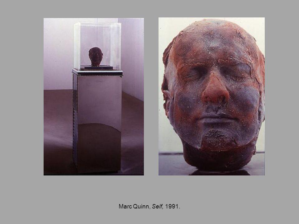 Marc Quinn, Self, 1991.