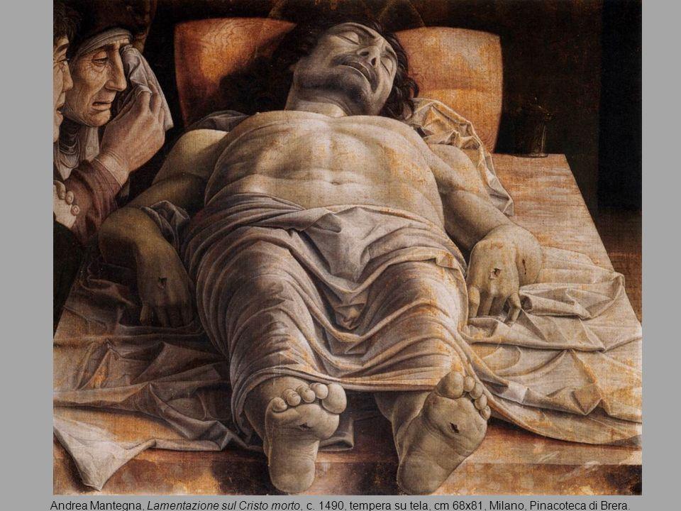 Andrea Mantegna, Lamentazione sul Cristo morto, c
