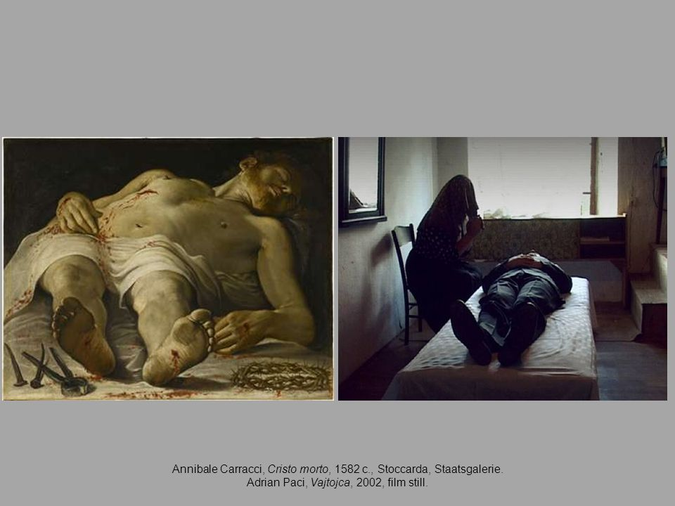 Annibale Carracci, Cristo morto, 1582 c., Stoccarda, Staatsgalerie.