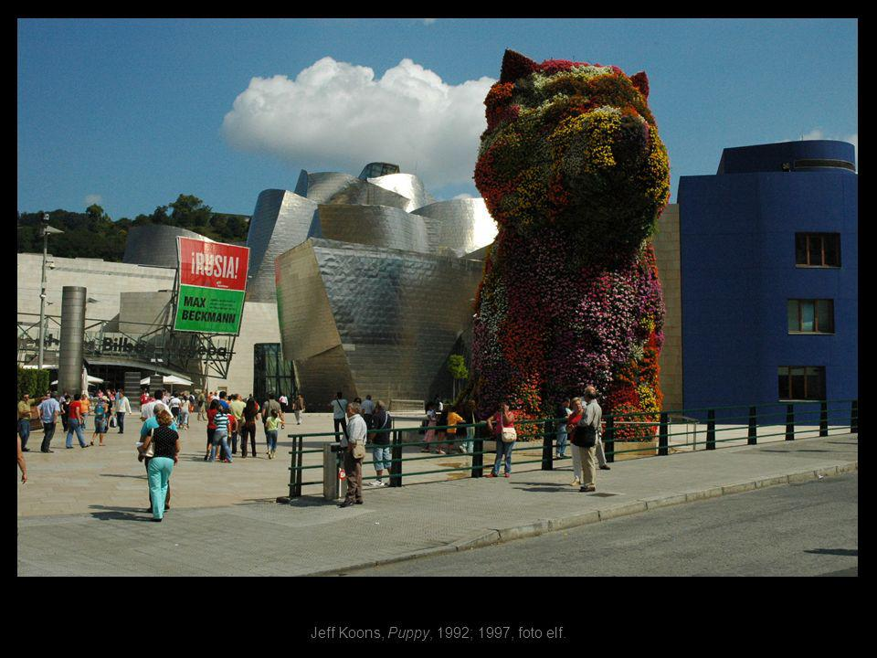 Jeff Koons, Puppy, 1992; 1997, foto elf.