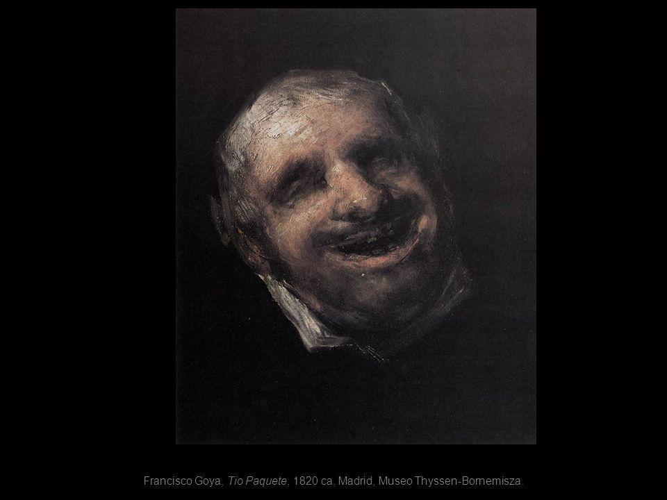 Francisco Goya, Tio Paquete, 1820 ca, Madrid, Museo Thyssen-Bornemisza.