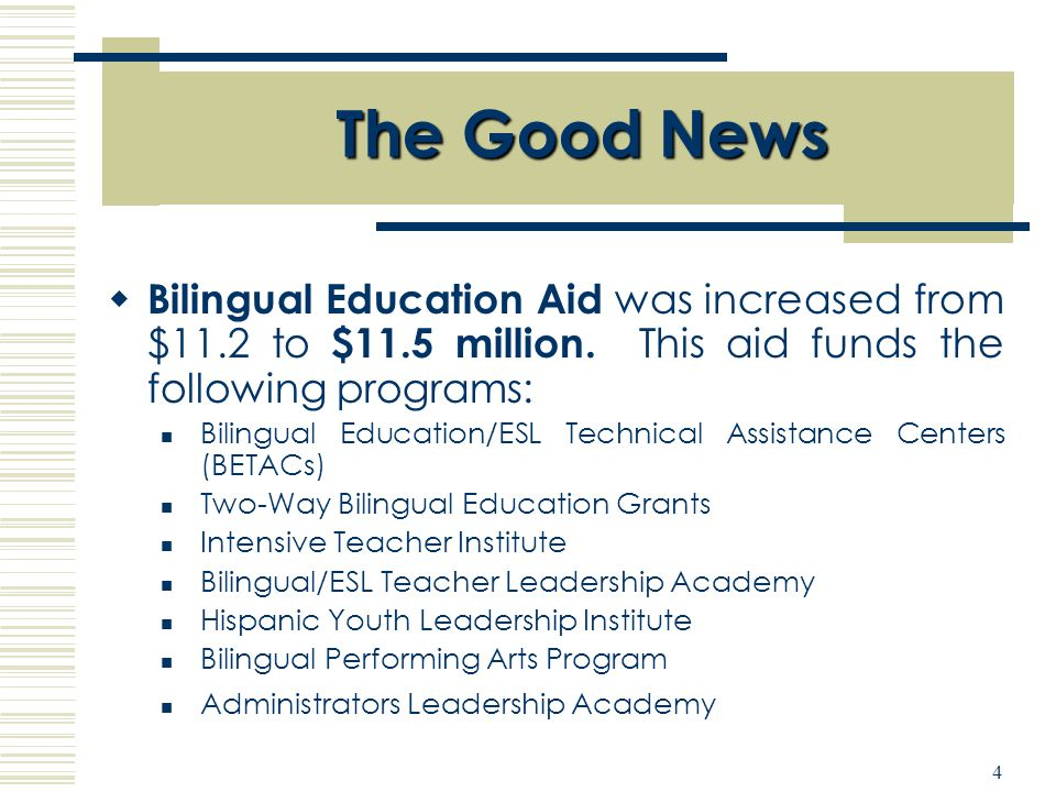 Office of Bilingual Education Foreign Language Studies ...