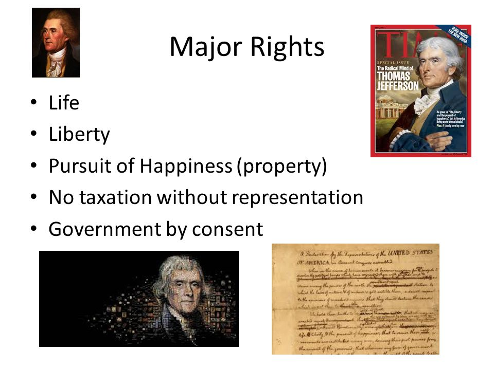Essay life liberty pursuit of happiness