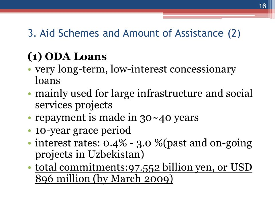 3. Aid Schemes and Amount of Assistance (2)