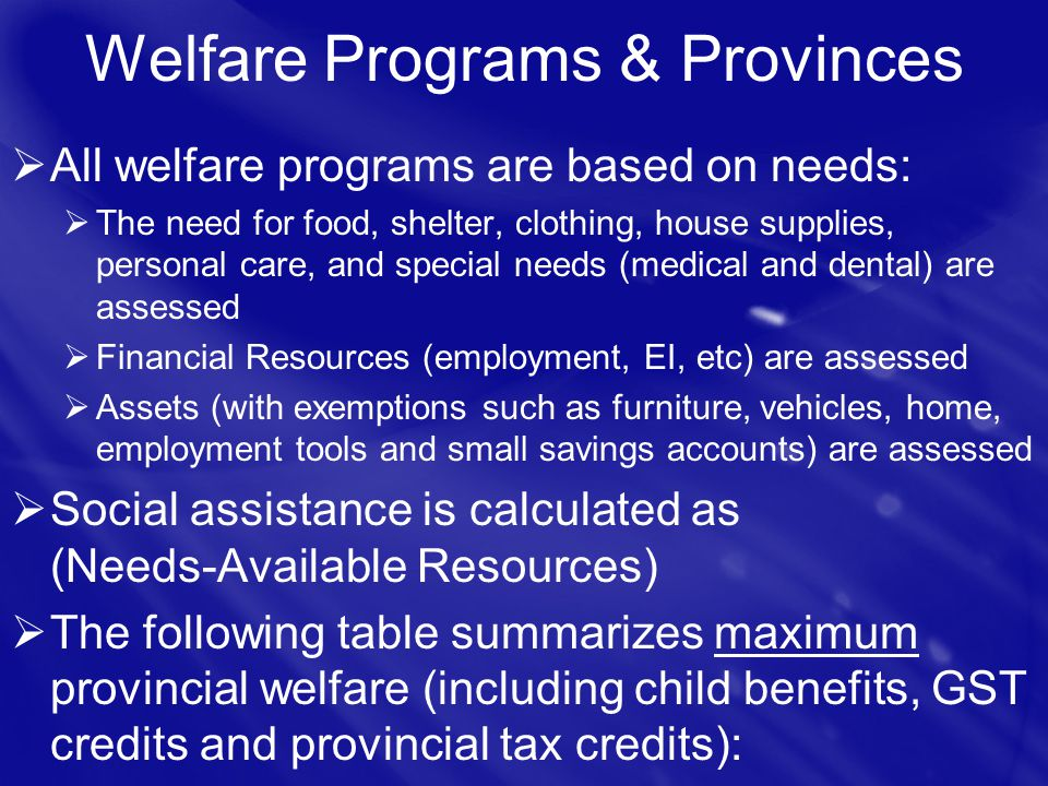 Financial Assistance For Child Care In Newfoundland
