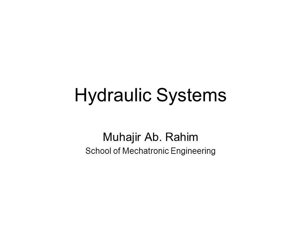 Muhajir Ab. Rahim School of Mechatronic Engineering