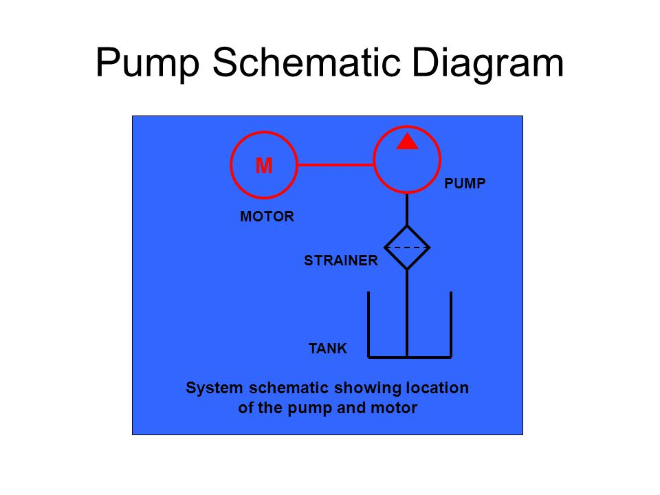 Pump Schematic Diagram