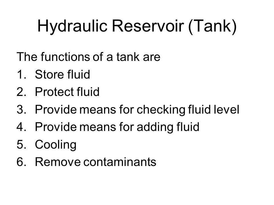 Hydraulic Reservoir (Tank)