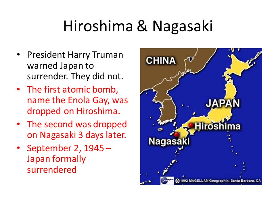 evaluating the us decision to drop the atomic bomb in japan in 1945 Why did the truman administration decide to drop the atomic bombs on japan in  1945 there has been much debate as to why truman elected to drop the.