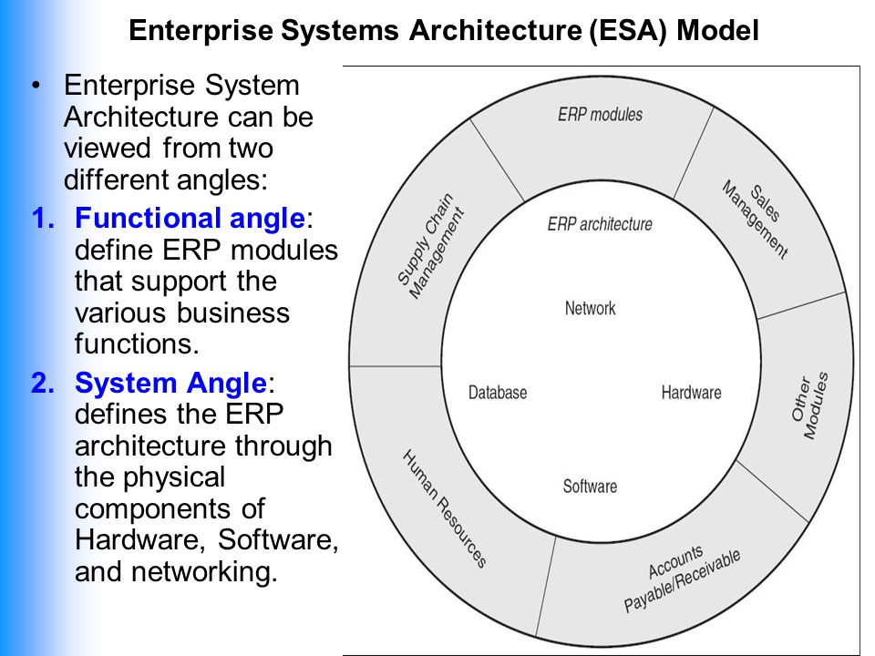 Exceptionnel 5 Enterprise Systems Architecture ...