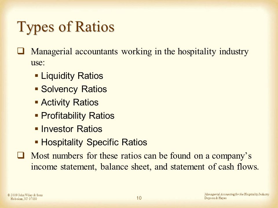 chapter 6 ratio analysis ppt download